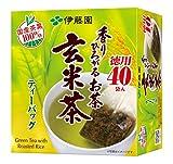 香りひろがるお茶 玄米茶 ティーバッグ 徳用 箱80g