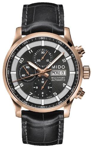 Mido Reloj Multiesfera para Hombre de Automático con Correa en Cuero M005.614.36.062.52