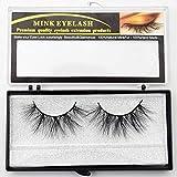 Lashes 3D Mink Eyelashes Handmade Mink Lashes cruelty-free Lightweight False Eyelashes 25mm Dramatic Lashes Makeup (E85)