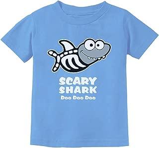 Scary Shark Doo doo doo Song Funny Halloween Toddler Kids T-Shirt