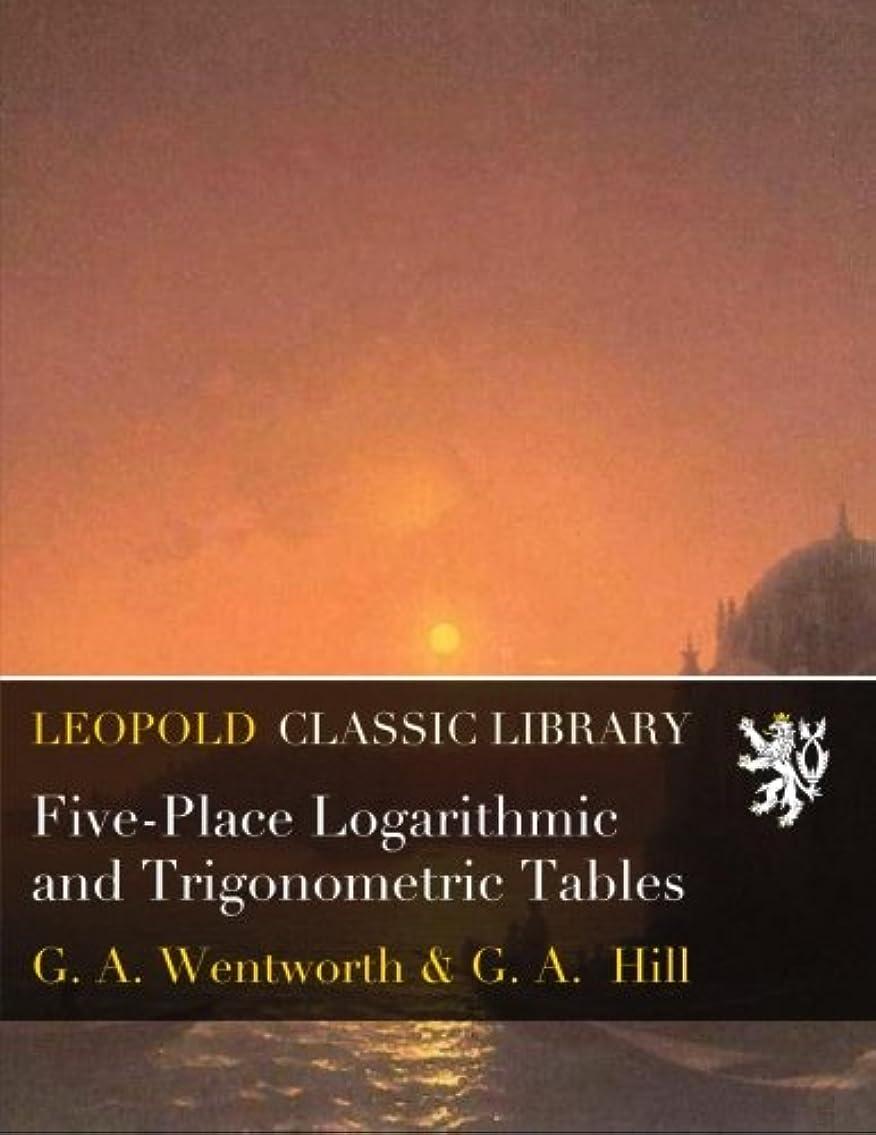 未接続浅い青Five-Place Logarithmic and Trigonometric Tables