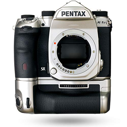 Pentax K-1 Mark II, Doppia Batteria con Impugnatura, Silver