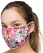 Debrief Me Anti Air Respirator Breathable Pollution Masks Carbon Activated Filtration (1 Mask+4 Filters) N95 Anti Bacterial Face Pollution Mask -Reusable Reusable comfy Cotto(MIX Pink)
