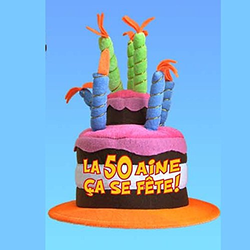 Cadoon's 50th Birthday Musical Hat [French Language]