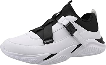 LILICHIC Men's Sneakers Fashion Personality Breathable Wearable Outdoor Lightweight Sports Shoes