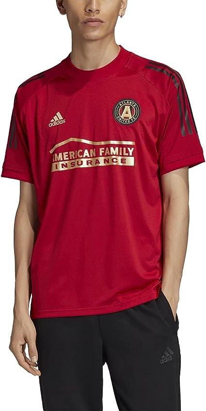 adidas Atlanta United Fc Adult Soccer Training Jersey (FI1738)