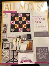 Anita Goodesign All Access VIP Club January 2019 Embroidery Design CD & Book