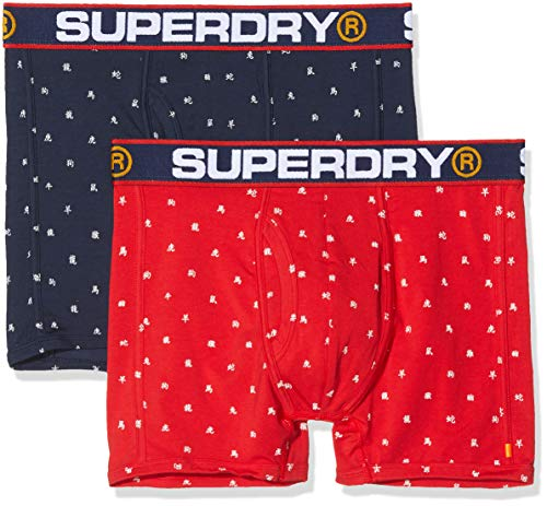Superdry CNY Sports Boxer Double Pack zwembroek voor heren
