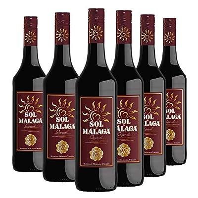 "Sol de Malaga 75cl - 6 bottles Pack - Sweet liquor wine D.O.""Malaga"""
