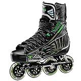 Tour Hockey Pro Fish Bonelite Inline Hockey Skate, Black, 10