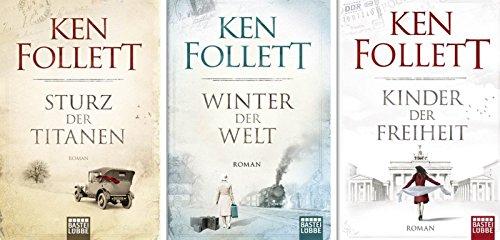 Jahrhundert-Trilogie im Taschenbuchformat: 1. Sturz der Titanen - 2. Winter der Welt + 3. Kinder der Freiheit