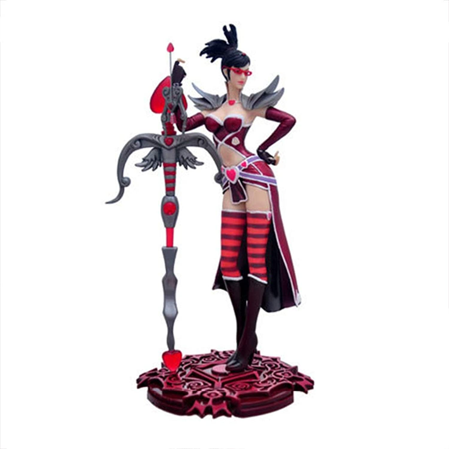 GABENG Game Characters Figures Toy Model Souvenir Crafts Ornament Statue Nendgoldid Doll Decoration League of Legends LOL The Night Hunter,Vayne