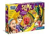 Clementoni-55394 - Slime Huevos de Dragones - Juego científico a Partir de 8 años