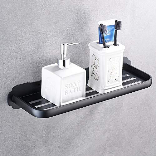Qeekzeel Duschkorb Ohne Bohren Duschablage Nagelfrei Selbstklebend Aluminum Kein Schaden Wandhängend Matte Finish Für Badezimmer Küche