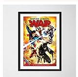 chuangyue Película Cómica La Muerte De Superman Batman Justice League Art Painting Silk Canvas Poster Wall Home Decor40X60 Cm Sin Marco