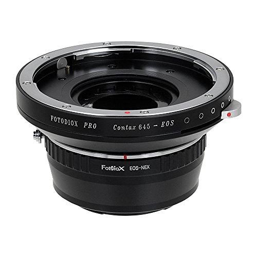 Fotodiox Pro Adaptores de Objetivo, Lentes Contax 645 (C645) a Cámara Sony...