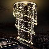 Lámpara de techo Duplex Lámparas redondo del cristal de la lámpara de la sala de la lámpara LED de luces de la habitación Comedor Servicios