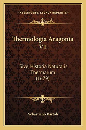 Thermologia Aragonia V1
