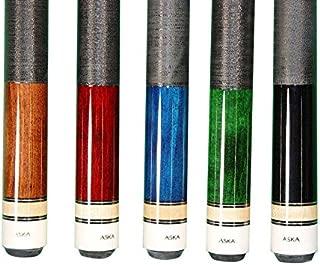 Set of Aska L2 Billiard Pool Cue Sticks, 58