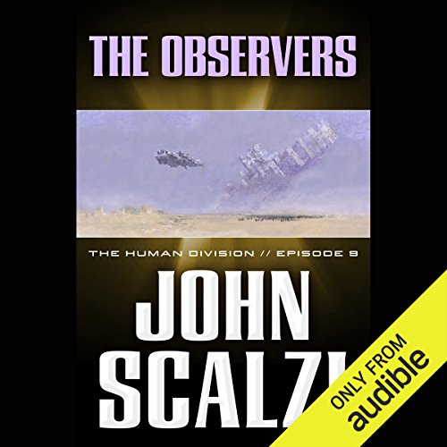 The Observers audiobook cover art