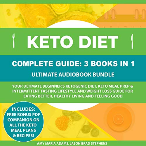 Keto Diet Complete Guide: 3 Books in 1  By  cover art