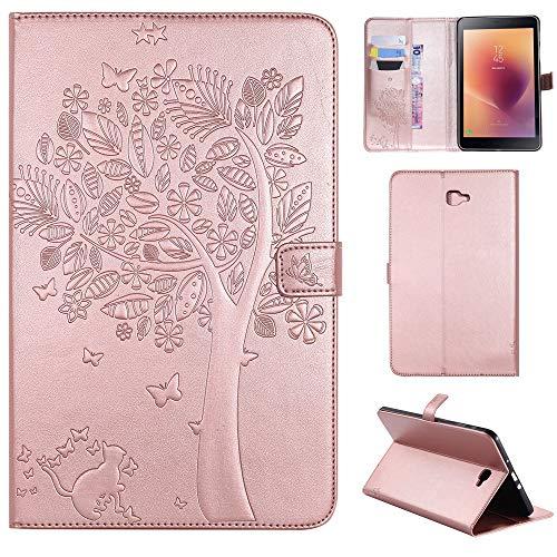 RZL Pad y Tab Fundas para Samsung Galaxy Tab A A6 10.1, Funda de Tableta a Prueba de Choque Caja Soporte de Cuero para Samsung Galaxy Tab A A6 10.1 2016 T580 T585 SM-T585 T580N (Color : ROG)