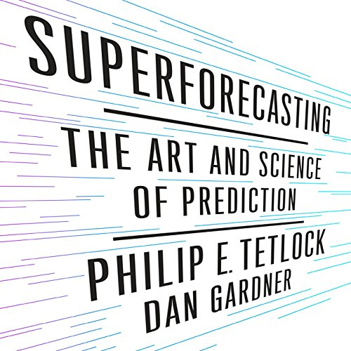 Superforecasting audiobook cover art