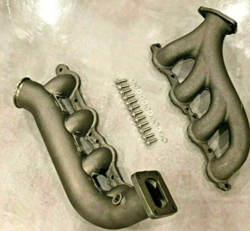 CHEVY GM LS Turbo Exhaust Hotparts T4 Kit Vortec V8 4.8 5.3 6.0 LSX Manifolds