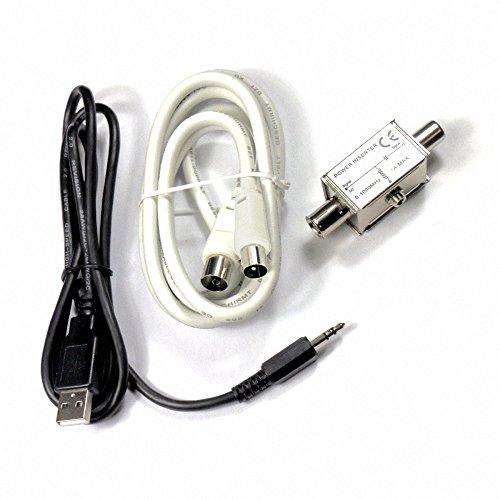 DVB-T Set Einspeiseweiche für aktive DVB-T Antennen im Fahrzeugbereich