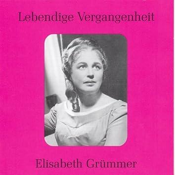Lebendige Vergangenheit - Elisabeth Grümmer