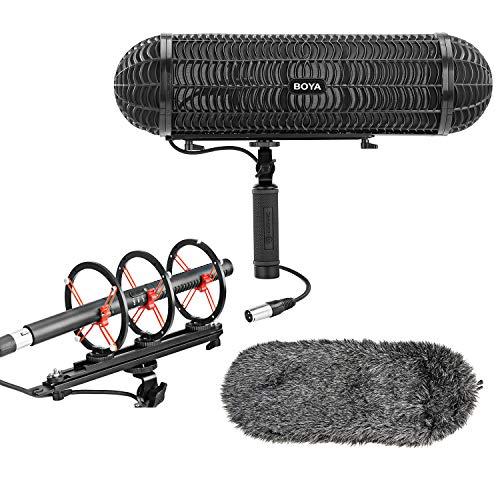 microfono de camara canon fabricante BOYA MIC
