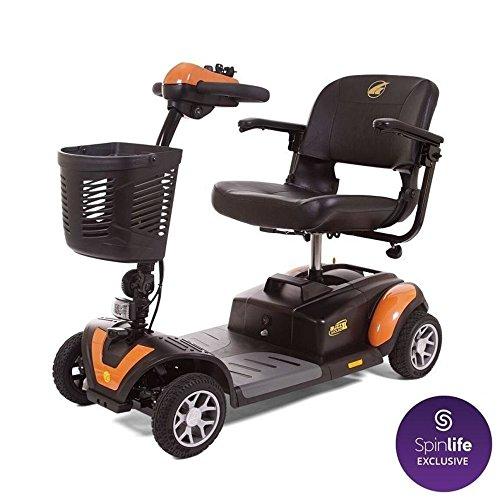 Golden Technologies Buzzaround XL 4 Wheel Power Scooter GB147, Orange