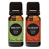 Edens Garden Guardian & Immunity Essential Oil Synergy Blend, 100% Pure Therapeutic Grade (Aromatherapy Oils), 10 ml Value Pack