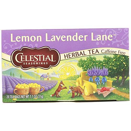 Celestial Seasonings Lemon Lavender Lane tea, Pack of 3