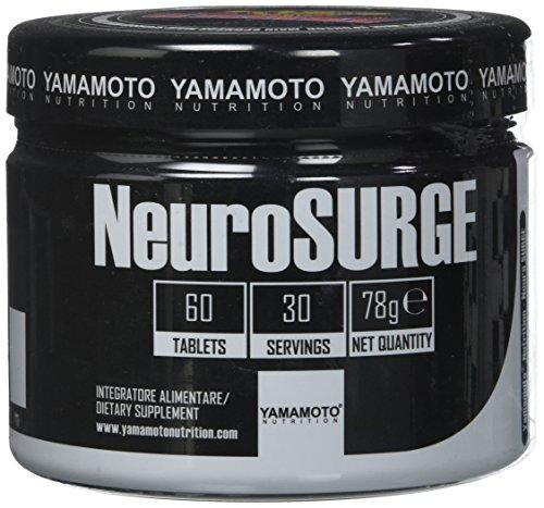 Yamamoto Nutrition NeuroSURGE integratore alimentare a base di fosfatidilserina vitamina C e estratti vegetali 60 compresse