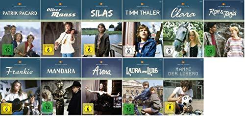 ZDF-Serienklassiker: Anna + Clara + Patrik Pacard + Oliver Maass + Silas + Timm Thaler + ...