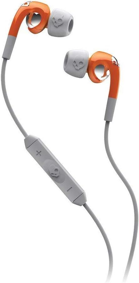 En marcha A tientas ampliar  Amazon.com: Skullcandy Fix Ear Bud with Mic1+ Remote - Retail Packaging -  Orange/Gray