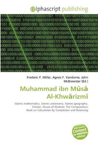 Muhammad Ibn M S Al-Khw Rizm