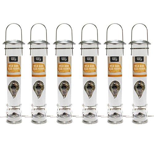 Bonnington Plastics Kingfisher/Natures mercato BF021grande Deluxe Seed feeder
