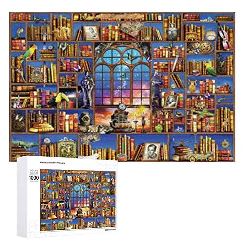 Yohoba Jigsaw Puzzle 1000 Piece imaginarium Large Puzzle Game Artwork for Adults Teens for Educational Gift Home Decor (20x30inch)