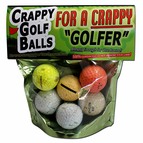 7. Crappy Golf Balls