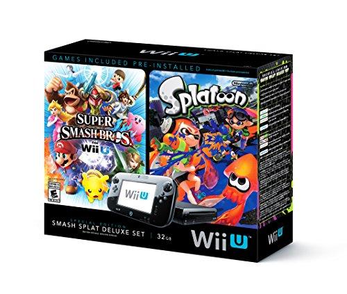 Wii U Super Smash Bros and Splatoon Bundle - Special Edition Deluxe Set