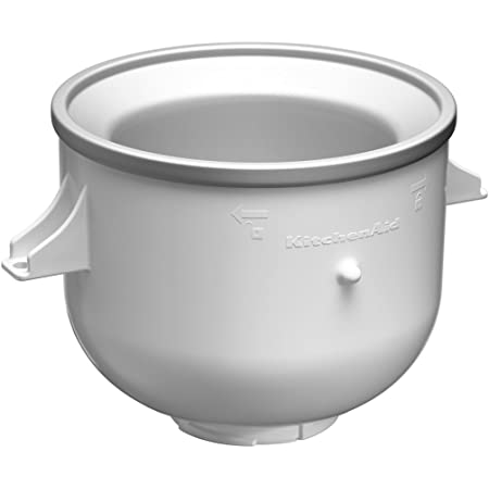 KitchenAid 5KICA0WH Machineà glace (accessoire pour tous les mixeurs KitchenAid)