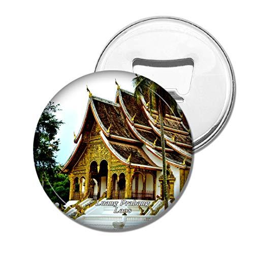 Weekino Königliches Palastmuseum Luang Prabang Laos Bier Flaschenöffner Kühlschrank Magnet Metall Souvenir Reise Gift