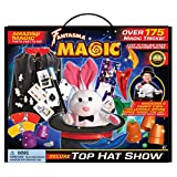 Fantasma Deluxe Top Hat Show Magic Set with 175+ Tricks to Learn (423EUD) - Complete with Magician's Cape Our Most Popular Magic Kit for Boys & Girls 6 Years and Older.