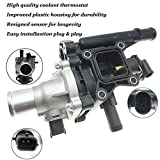Engine Coolant Thermostat Housing with Sensor Gasket for 2011-2016 Chevrolet Cruze 2012-20...