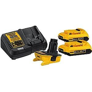 DEWALT 20V MAX Battery Adapter Kit for 18V Tools