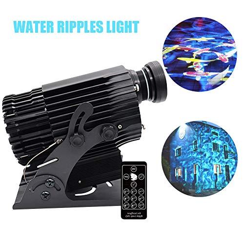 AMAZOIN 40W LED-Wasser plätschert Lichtprojektor-Röhrenblitz-Bühnenbeleuchtung Wasser-Kräuselungs-Effekte für KTV Club Bar,DMS512lightingsystem
