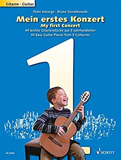 My First Concert - 44 Easy Guitar Pieces from 5 Centuries - guitar - ( ED 22050 )