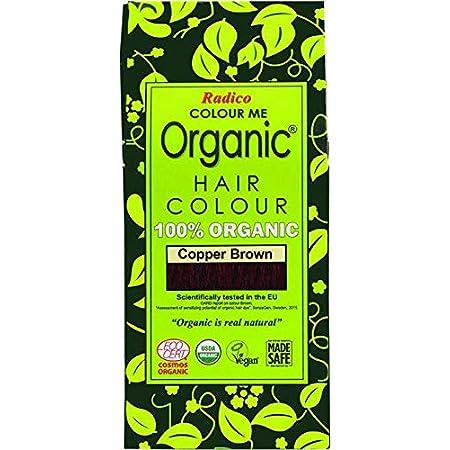 Radico - Tinte vegetal orgánico para el cabello - Castaño Cobrizo